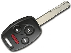 High Security Honda key with remote