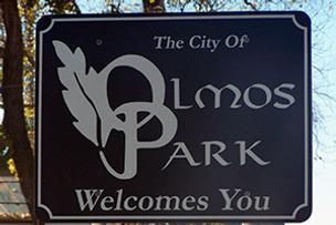 Olmos park sign