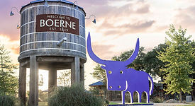Water tower in Boerne