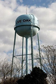 Live Oak Water Tower
