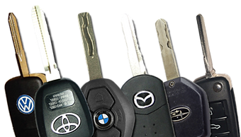 High security car keys