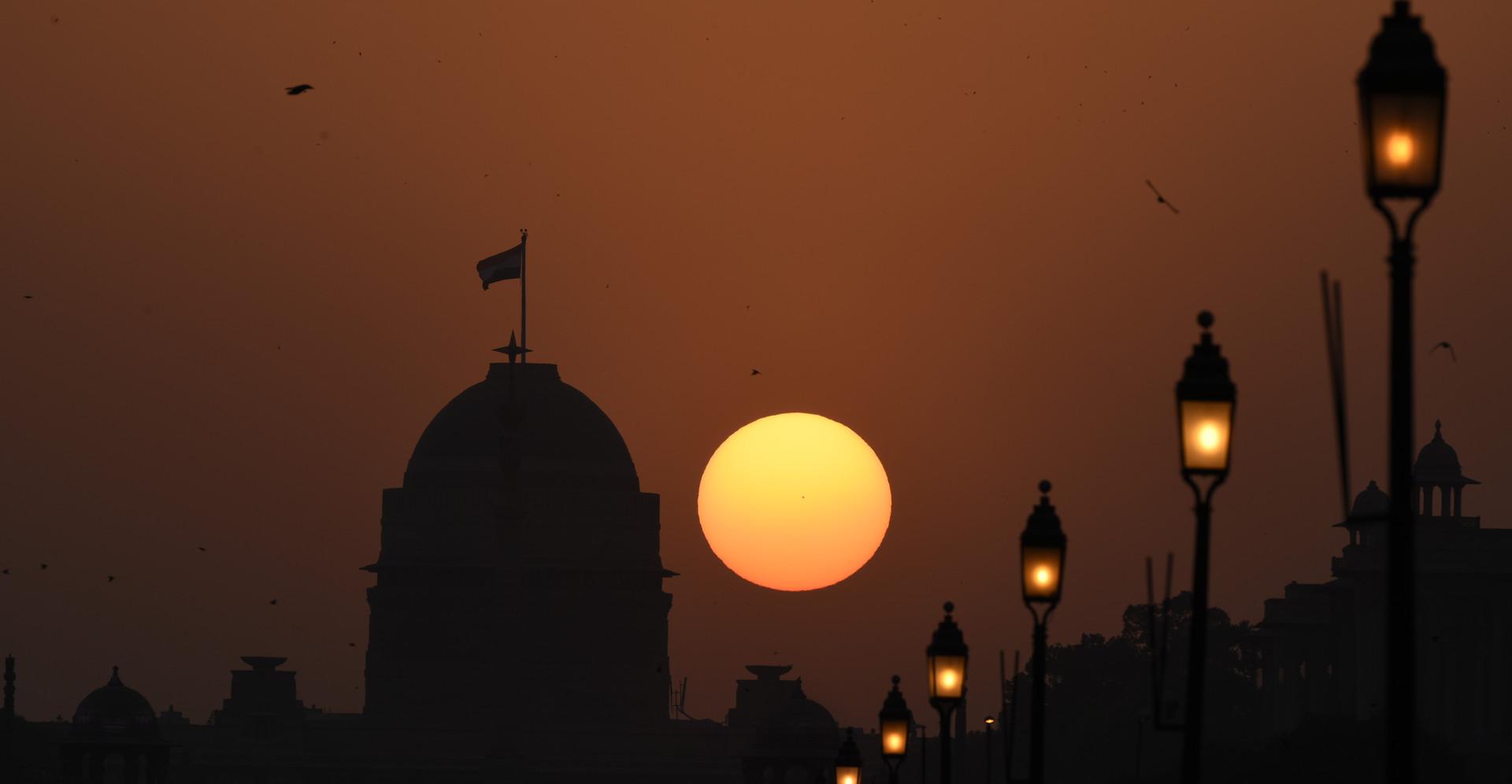 Sunset - Rajpath, Delhi