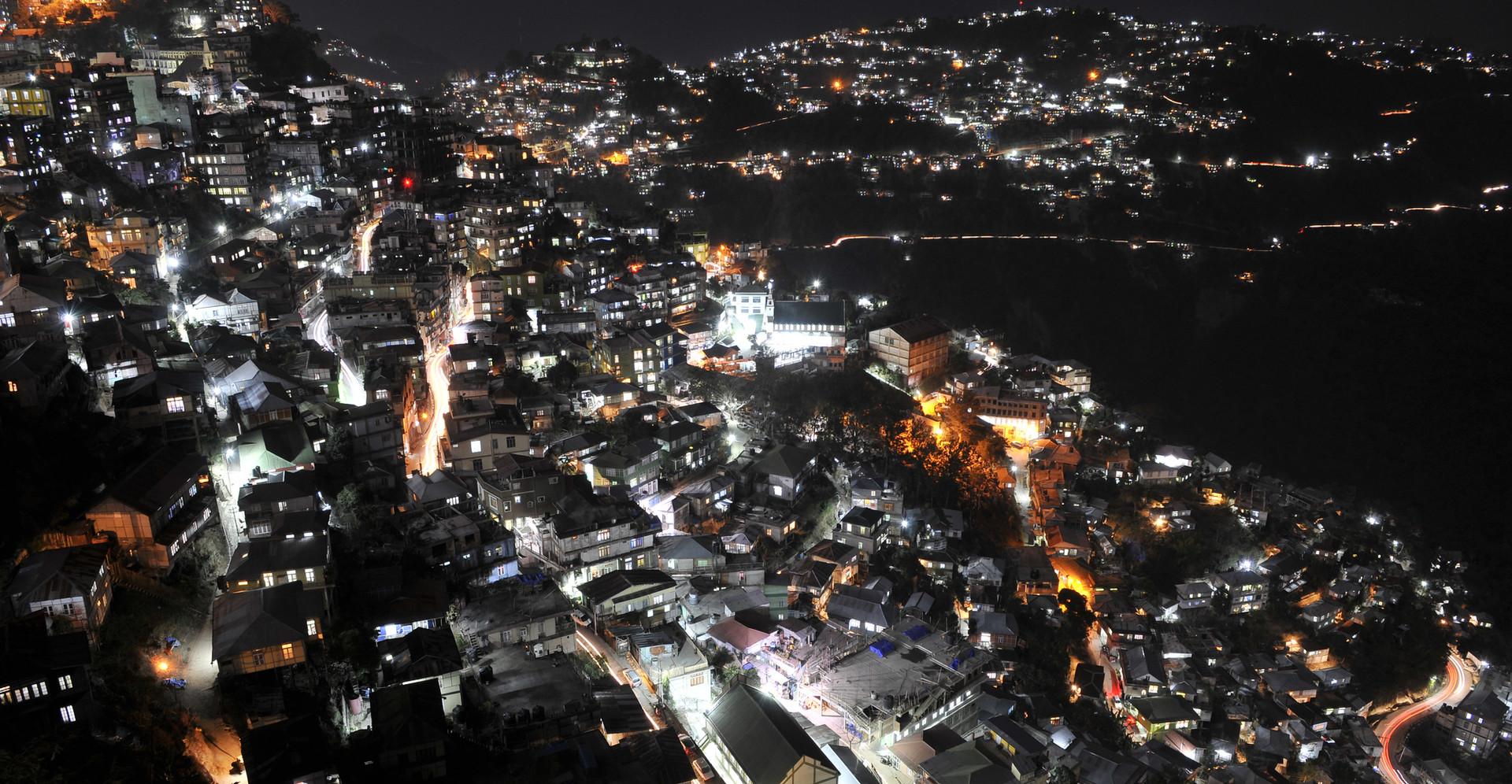 Night View - Aizawl