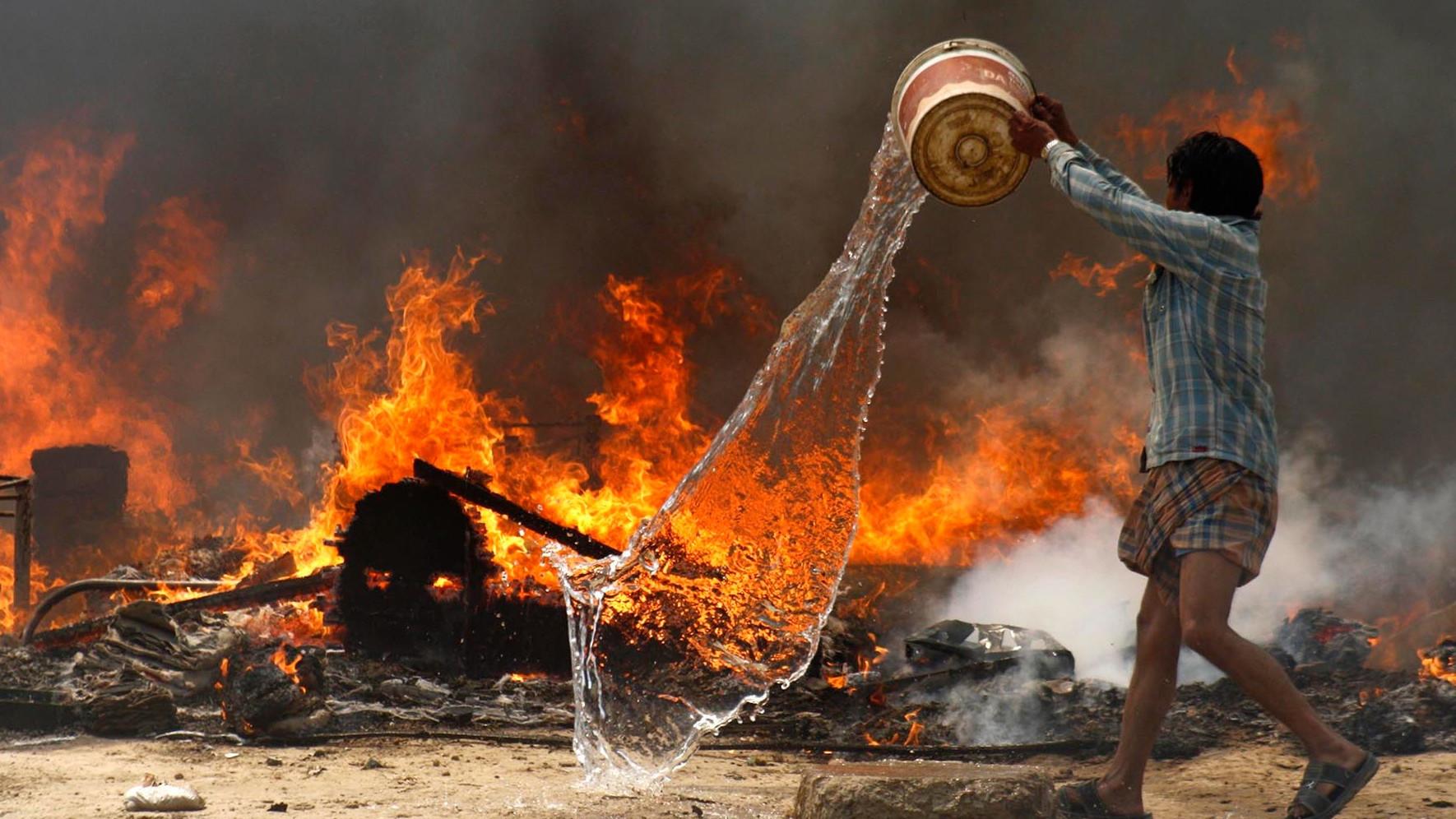 Fire - Delhi