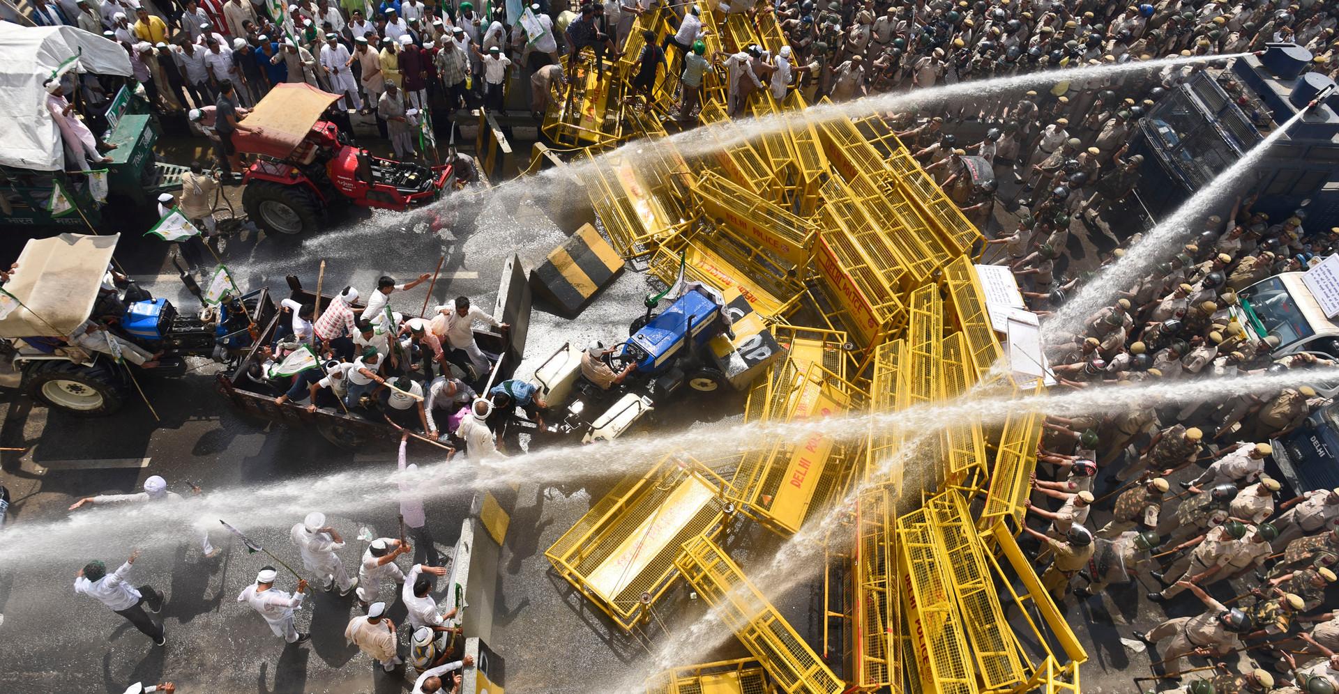 Farmers Protest - Delhi