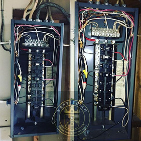 Old obsolete electrical panel