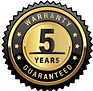 collection-gold-warranty-years-badges-la