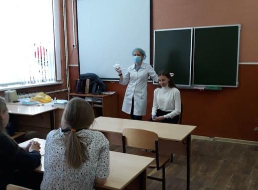 Участие в работе профориентационного центра в г. Михайлове