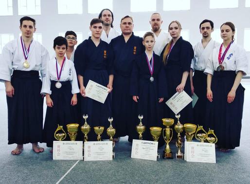 Врач диспансера принял участие в соревнованиях по Хосёкай