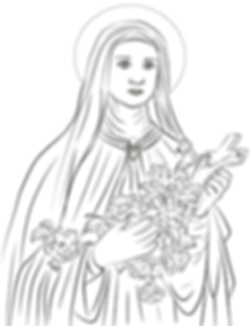 saint-therese-of-lisieux-coloring-page.p