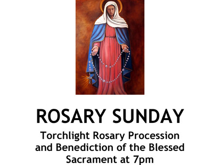 Rosary Sunday