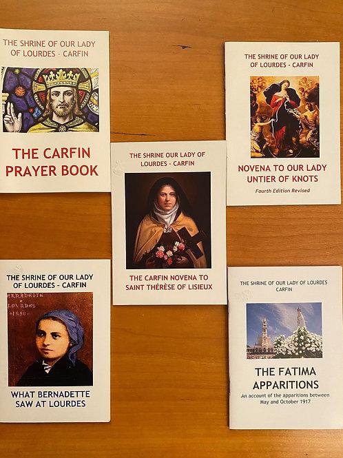 Carfin Prayer Book Bundle