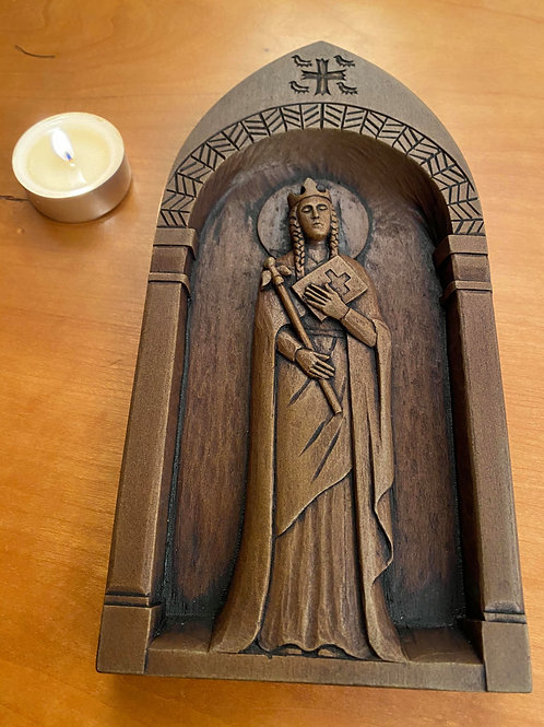 Limited Edition St Margaret wall plaque