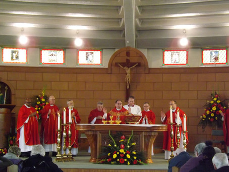 Mass of Thanksgiving for the Legion of Mary