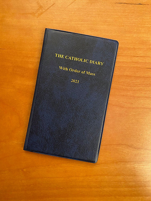 Catholic Diary with order of Mass
