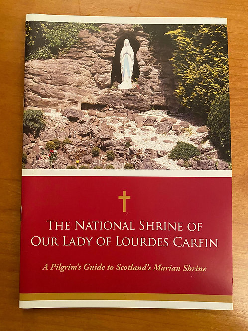 Carfin Grotto - Pilgrims Guide book