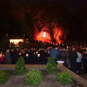 Rosary Sunday Torchlight Procession