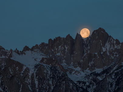 Cradled Moon