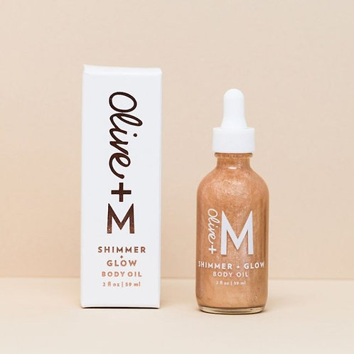 OLIVE + M - Shimmer + Glow Body Oil