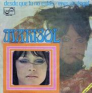 1970 Marisol Desde que tu no estás - Ere
