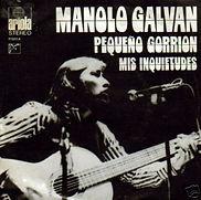 1972 Manolo Galván Pequeño gorrión - Mis