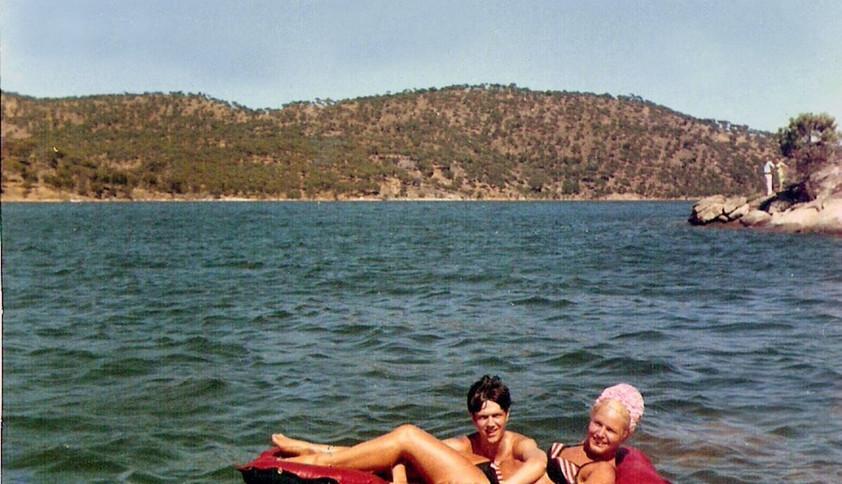 Camilo con Laura Casale