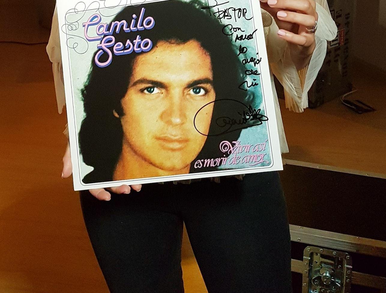 Grabación de Camilo Sinfónico