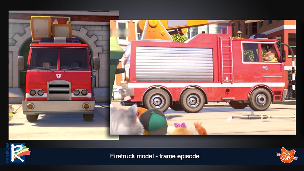 render firetruck