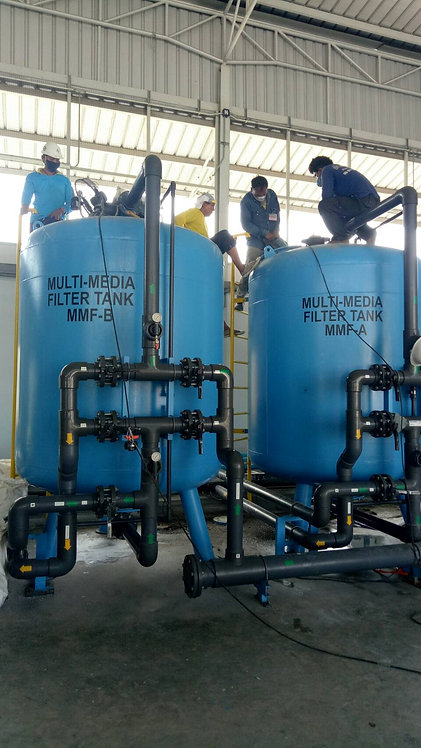Replacement of Filter media ( Sand, Activated Carbon, Antracite, Resin, etc)