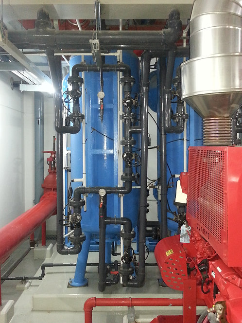Activated Carbon Filter System (ถังกรองคาร์บอน)
