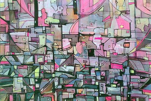 "Pinkspace - PRINT - 24"" x 36"""