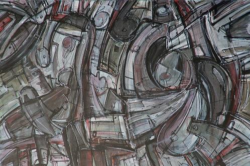 "Night Swirl - 24"" x 36"""