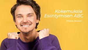 Loppufiilistelyt Esiintymisen ABC by Roope Salminen -verkkovalmennukselta