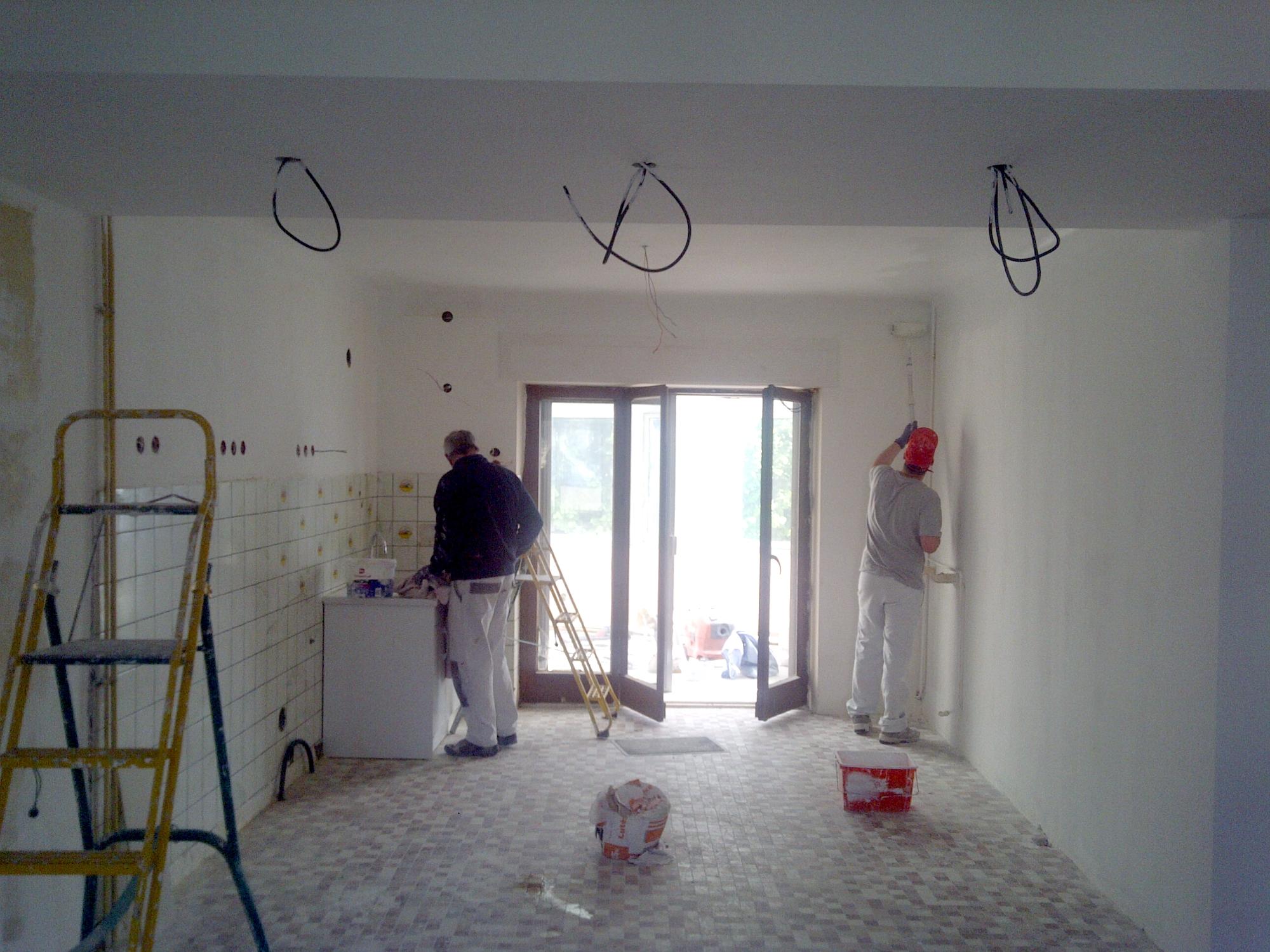 Peinture d'un appartement