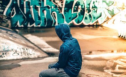 Teen alone grafitti.jpg