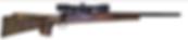 custom winchster 70  hunting rifle