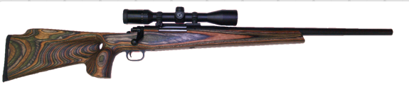 custom winchster 70  hunting rifle