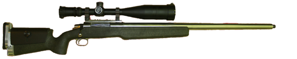 long range competition rifle in 7mm wsm