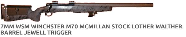 Custom Gunsmithing   Extreme Rifles   USA   Barrel Jewel Trigger