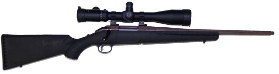 custom long range 223 rifle