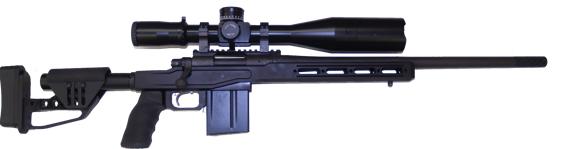 custom long range remington 700 rifle