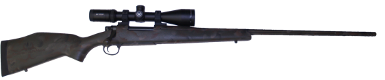 7mm08  hunting rifle