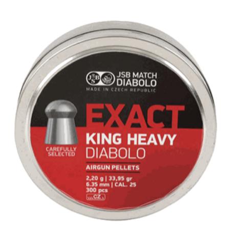 JSB Diabolo .25 Cal, 33.95 gr - 300 ct