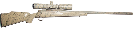 custom 300 rum long range  hunting rifle