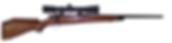 custom mauser 25/06  hunting rifle