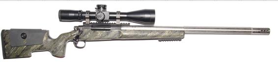 custom long range 300rum rifle