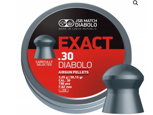 DIABOLO EXACT .30 CALIBER 150 pcs