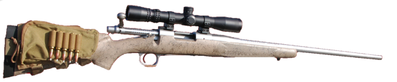 custom 700 bdl hunting rifle