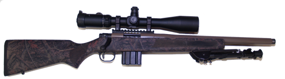 custom 300 black out  hunting rifle