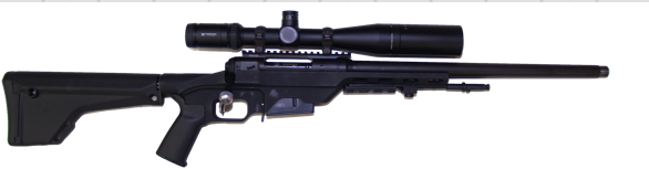 custom long range 308 savage rifle